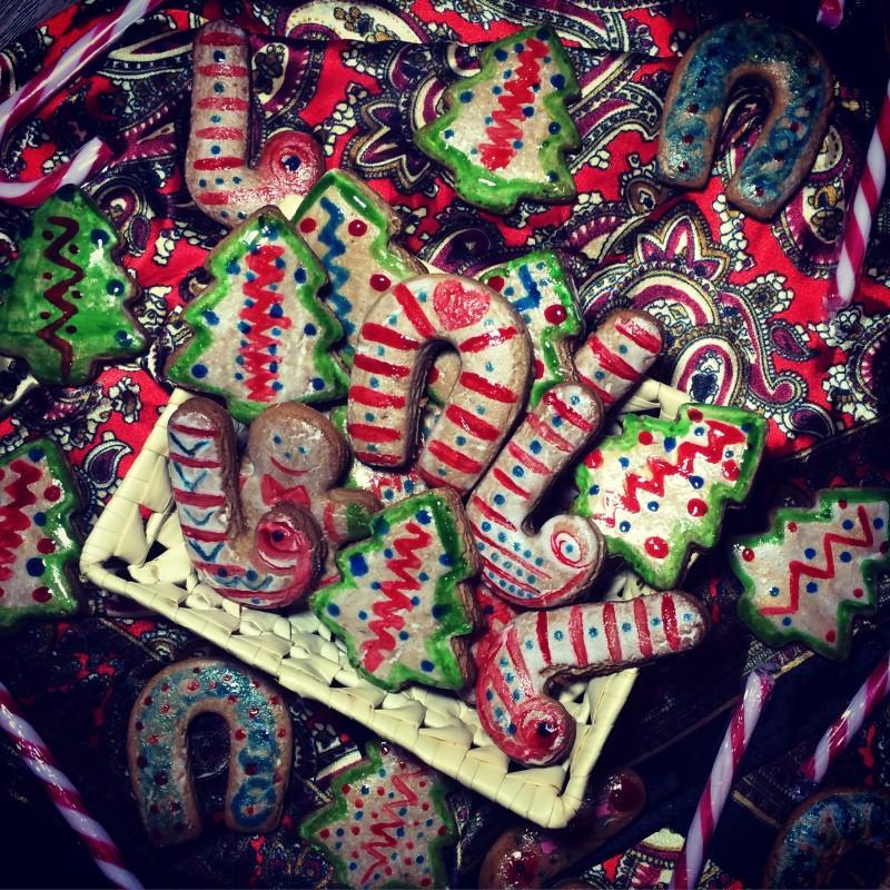 Рождественские имбирные пряники (1)