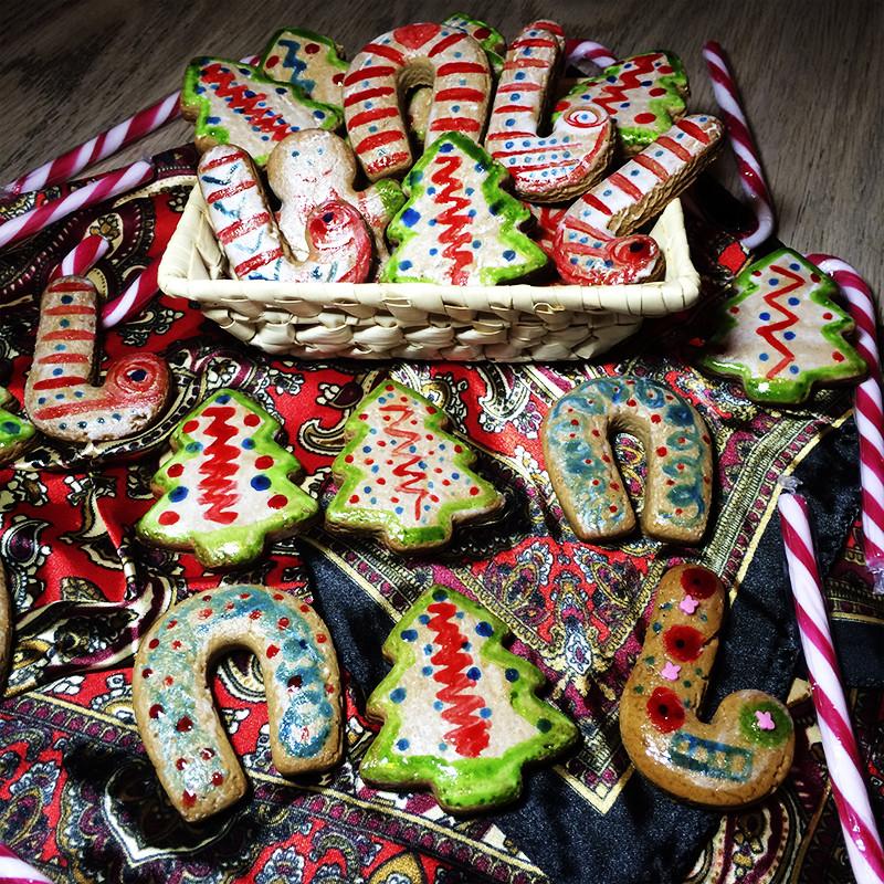 Рождественские имбирные пряники (26к)