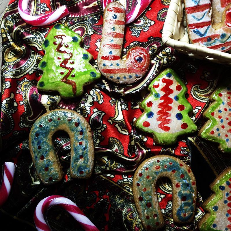 Рождественские имбирные пряники (32к)