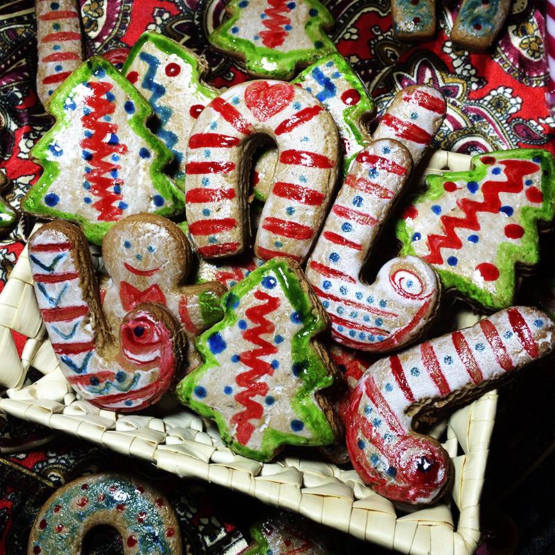 Рождественские имбирные пряники (39к)