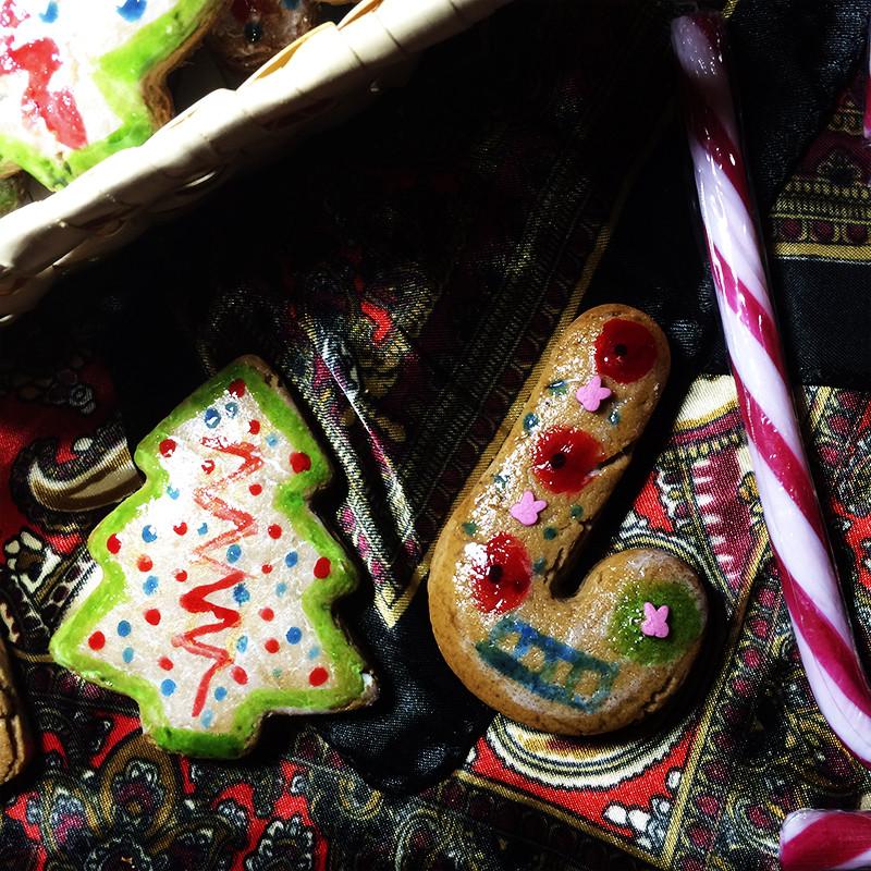 Рождественские имбирные пряники (42к)