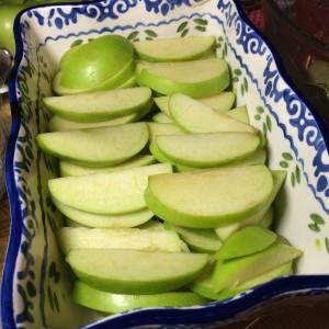 Диетический яблочный крамбл (11)