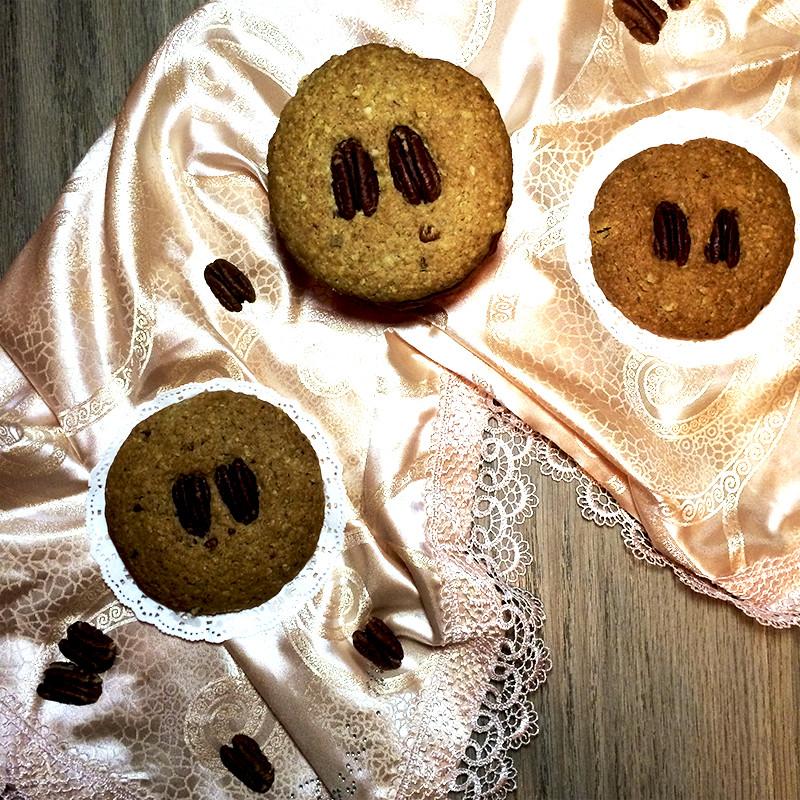 Печенье с орехами пекан (27к)