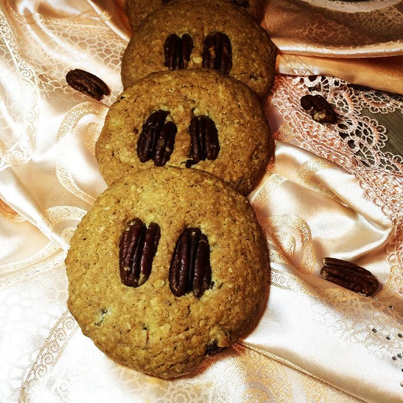 Печенье с орехами пекан (29к)