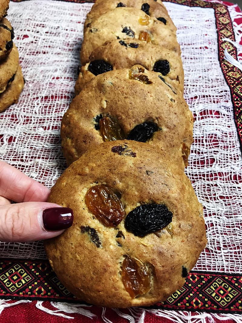 Этот рецепт печенья низкокалорийный. С добавлением полезных злаков.