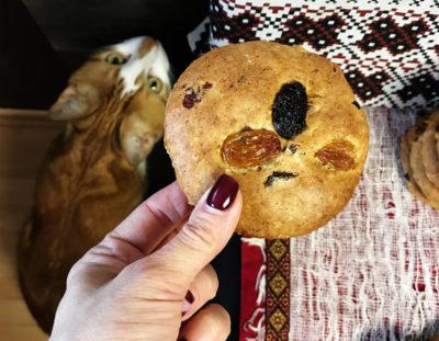 Творожное печенье «Два изюма»