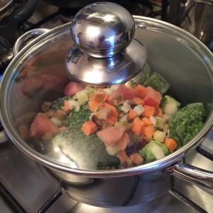 Суп из брокколи и шпината 04