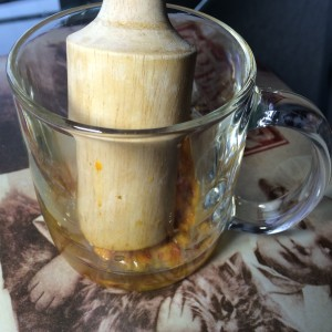 Облепиховый чай с имбирем и лимоном