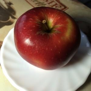 Творожная запеканка с яблоком и барбарисом 04