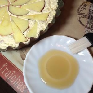 Творожная запеканка с яблоком и барбарисом 11