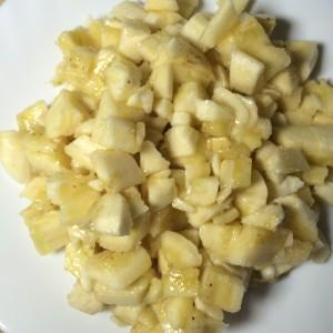Бананы кусочки