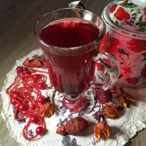 Чай со смородиной и гренадином