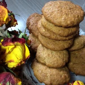 Зерновое печенье с апельсиновым акцентом