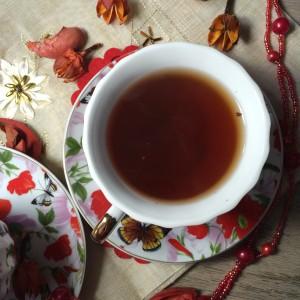 Этот чай очень необычный.