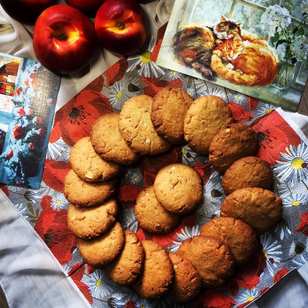Миндальное печенье к завтраку