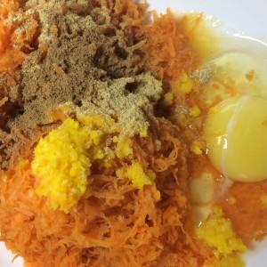 Морковные оладьи с апельсиновым соком 2