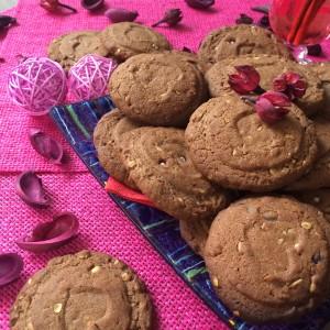 Французское шоколадное печенье