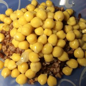 Нут и рис