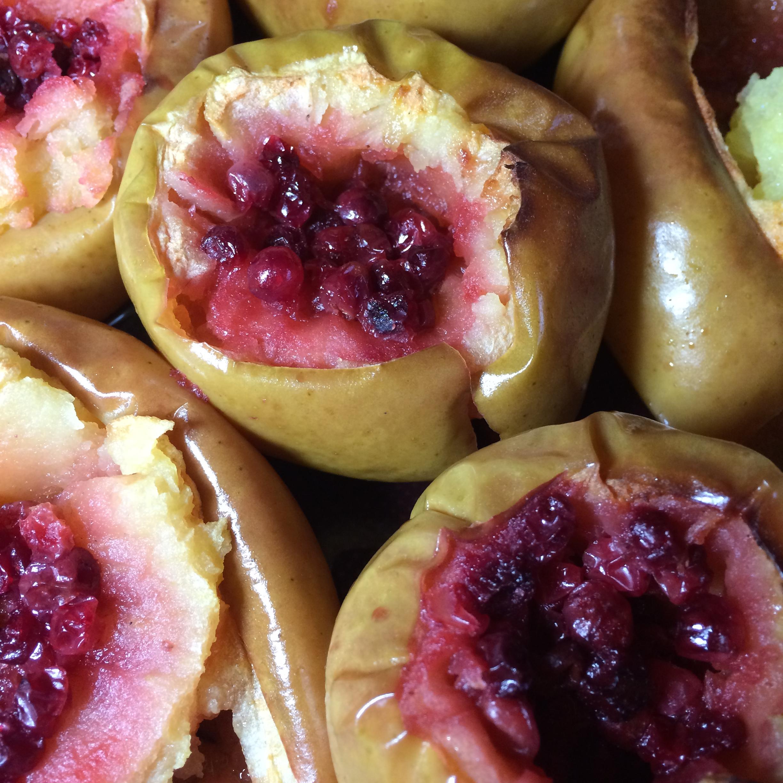 Запеченные яблоки пошаговое фото