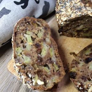 Полезный яблочный хлеб с маком 1