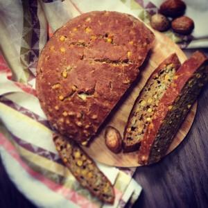 Полезный кукурузный хлеб
