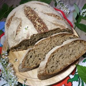 Силезский хлеб на ржаной закваске