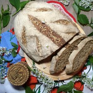 Силезский хлеб на ржаной закваске 1