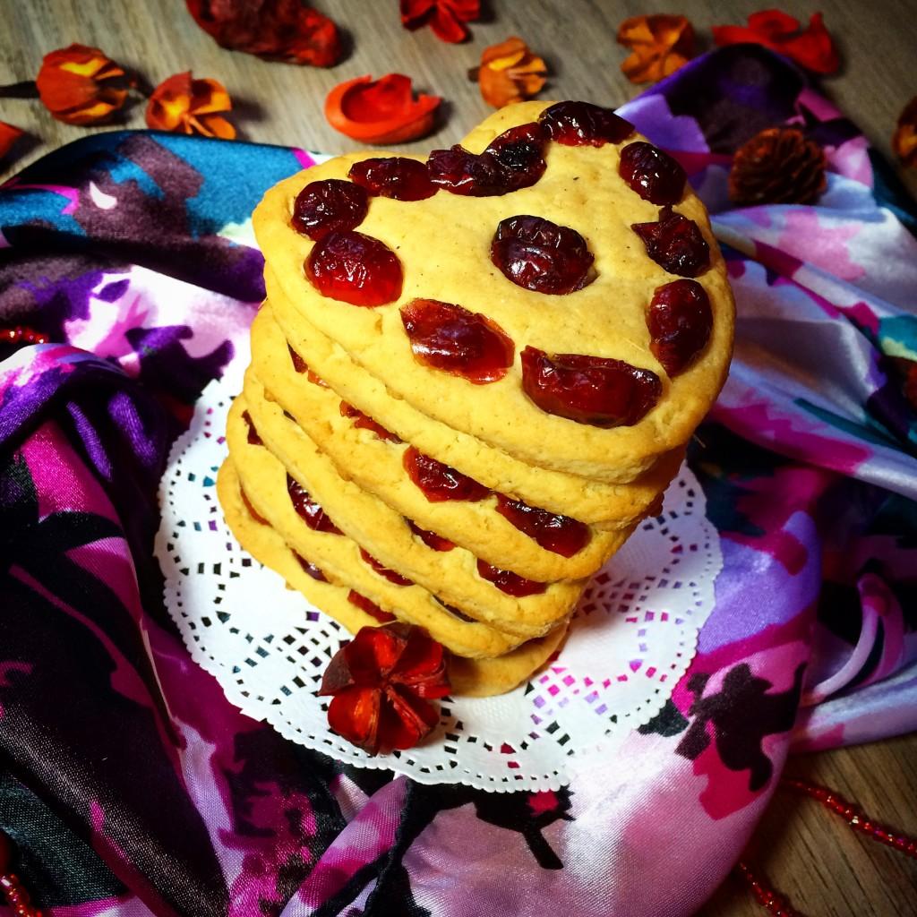Имбирное печенье с вяленой клюквой (1)