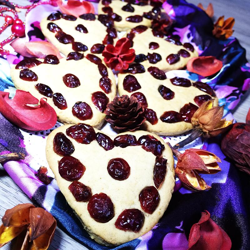 Имбирное печенье с вяленой клюквой (38к)