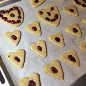 Имбирное печенье с вяленой клюквой (9)