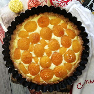 Итальянский абрикосовый пирог 6