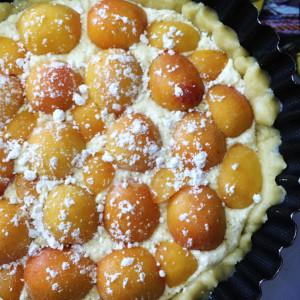 Итальянский абрикосовый пирог 7