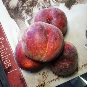 Маффины с персиками и йогуртом