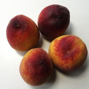 Оладьи к завтраку с персиками 1