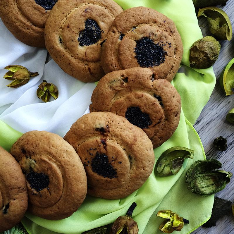 Печенье Маковые сердечки 3