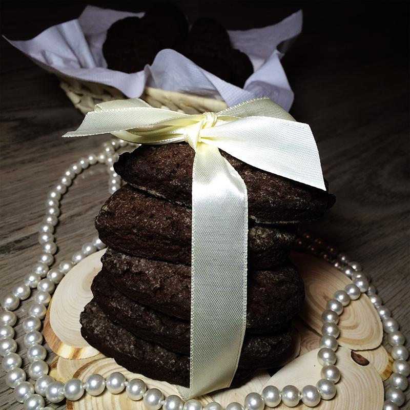 Печенье шоколадное сердце (43к)