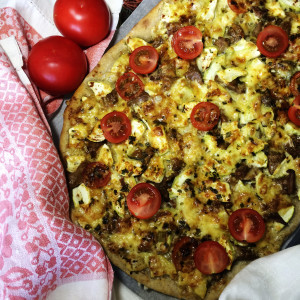 Пицца с лесными грибами для ваших любимых
