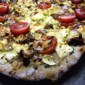 Пицца с лесными грибами д3