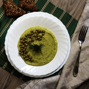 Питательный суп-пюре из нута 5