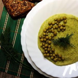 Питательный суп-пюре из нута 6