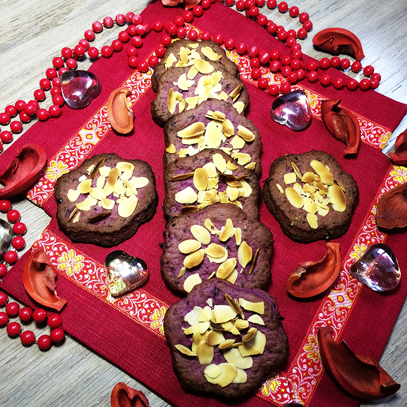 Смородиновое печенье с миндалем (25к)