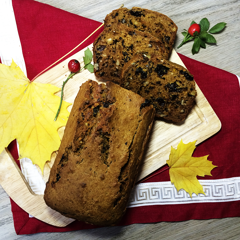 Тыквенный хлеб (51)
