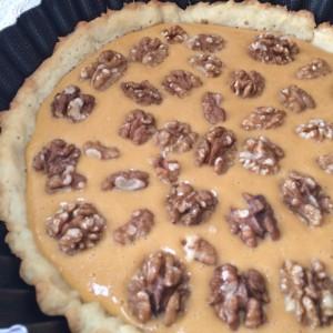 Тыквенный пирог с орехами (21)