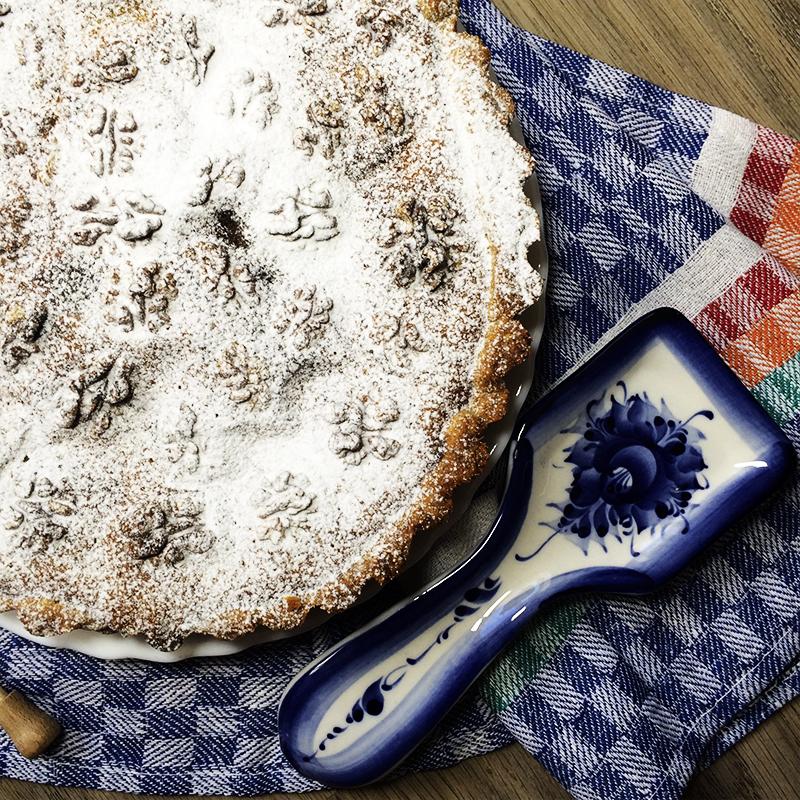 Тыквенный пирог с орехами (32к)