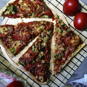 Вегетарианская пицца 1