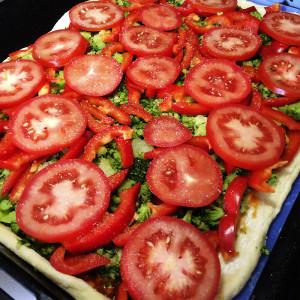 Вегетарианская пицца 3
