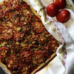 Вегетарианская пицца 4