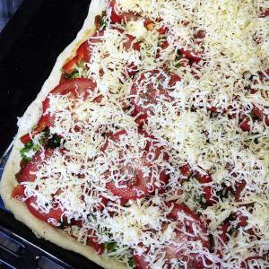Вегетарианская пицца 6
