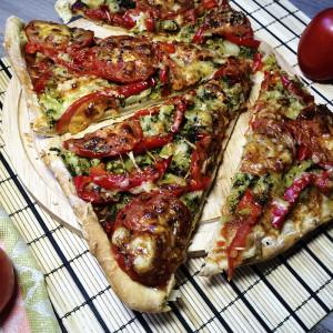 Вегетарианская пицца 9