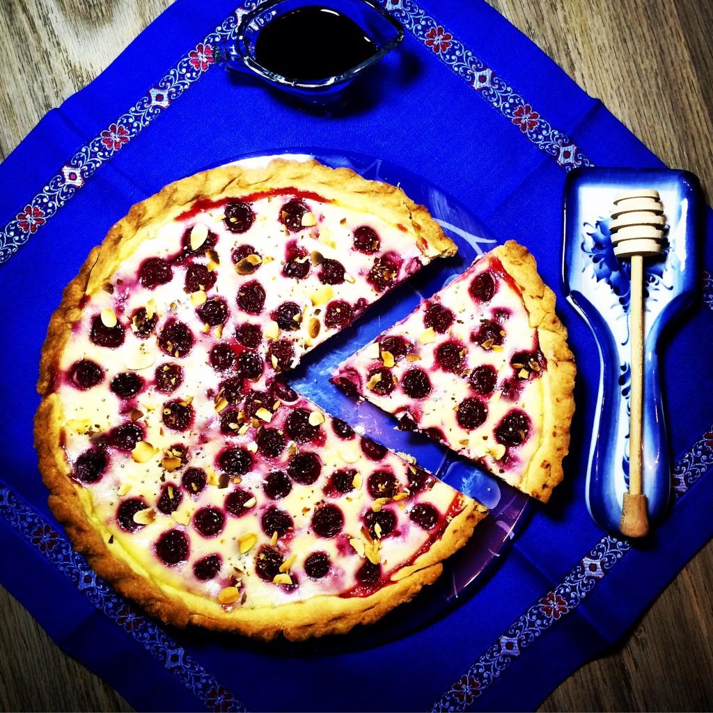 Вишневый тарт с рикоттой (1)